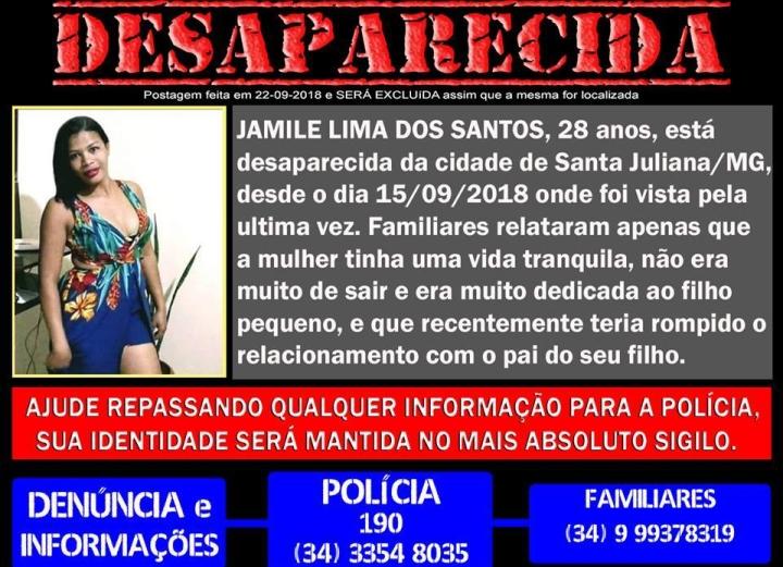 desaparecida Jamile Sta Juliana